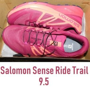 NEW Salomon 9.5 SENSE RIDE Trail Elite Shoes Run